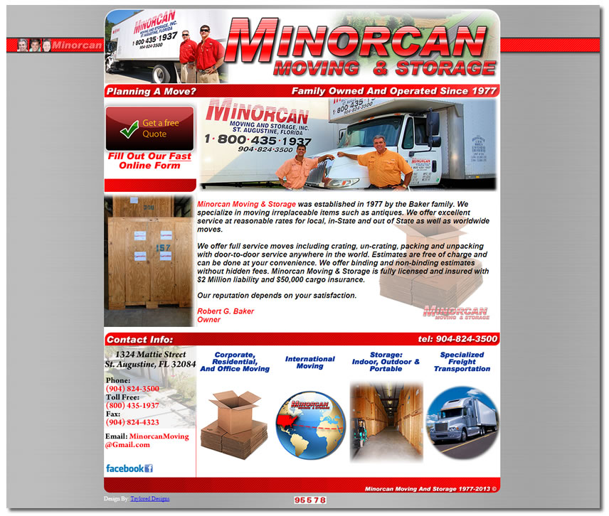 Minorcan Moving & Storage